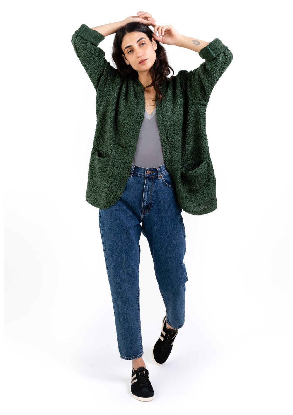 Dark Green Jane jacket