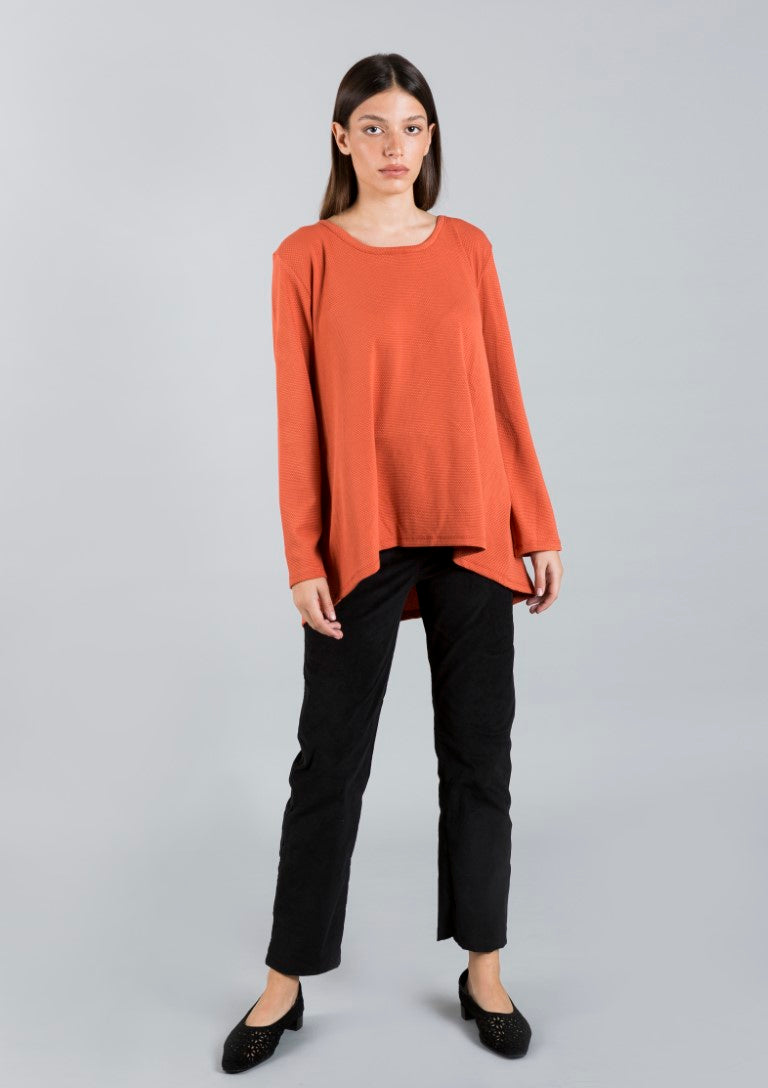 Jul orange  tunic