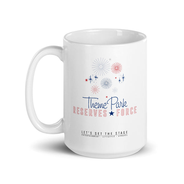Theme Park Reserves Force Mug - Let's Set the Stage