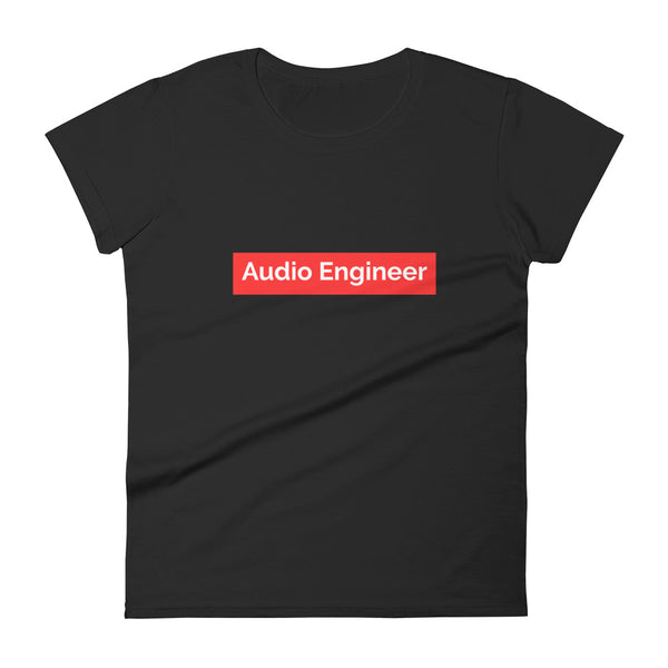Supreme Audio Engineer Women's Tee - Let's Set the Stage