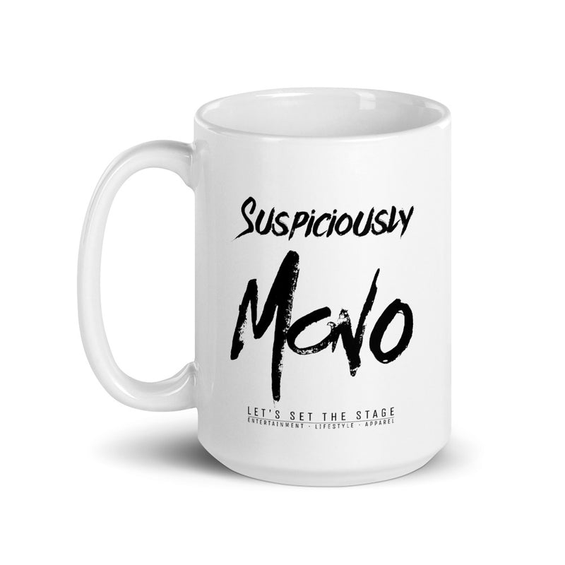 Suspiciously Mono Mug - Let's Set the Stage