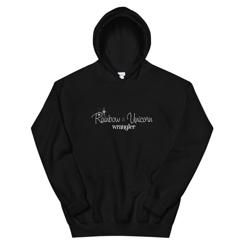 Rainbow & Unicorn Wrangler Hoodie - Let's Set the Stage