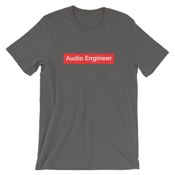 Supreme Audio Engineer Tee - Let's Set the Stage