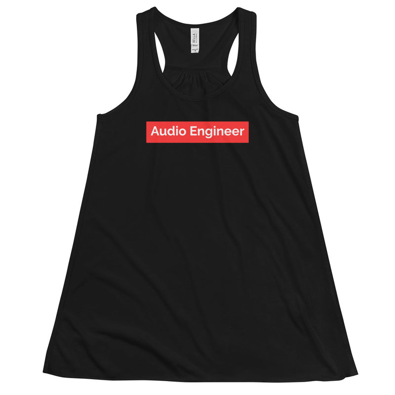Supreme Audio Engineer Women's Flowy Racerback Tank - Let's Set the Stage