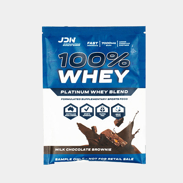 100% Whey Sample Sachet - 2 Pack