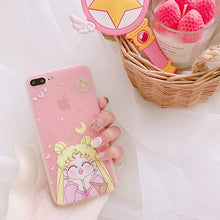 Load image into Gallery viewer, Sailor Moon Anime Case - Phoneaholix