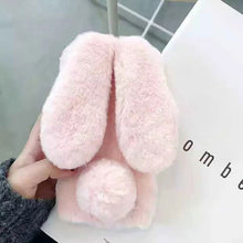 Load image into Gallery viewer, Bunny Ears Fluffy Case - Phoneaholix