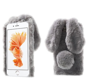 Bunny Ears Fluffy Case - Phoneaholix