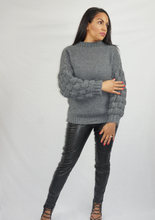 Load image into Gallery viewer, Womens Fashion - Eve Bobble Knitted Jumper