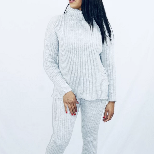 Womens Winter Casual Clothing - Zoe knitted Tracksuit
