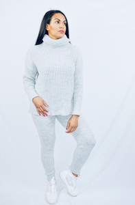 Womens Winter Casual Fashion - Zoe knitted Tracksuit