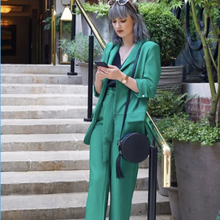 Load image into Gallery viewer, Womens Clothing Boutique - Esme Emerald Suit Set