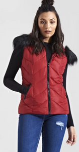Womens Clothing - Delaney Puffa Gilet