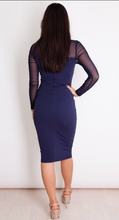 Load image into Gallery viewer, Womens Dresses - Maria Dress Midnight Blue
