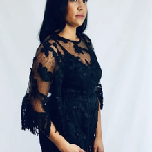 Load image into Gallery viewer, Womens Clothing - Juliette Black Lace Playsuit