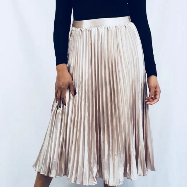 Womens Clothing - Elsa Pleated Midi Skirt
