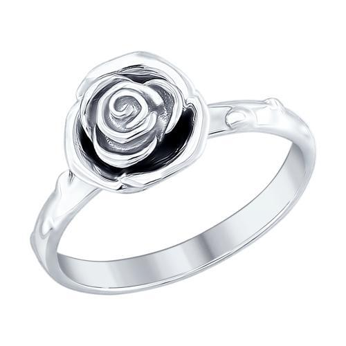 Paradis.Love Jewelry Sterling Silver Rose Shaped Ring