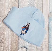 Load image into Gallery viewer, Half moon Peter Rabbit hat
