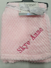 Load image into Gallery viewer, Personalised Baby town luxury waffle pram blanket