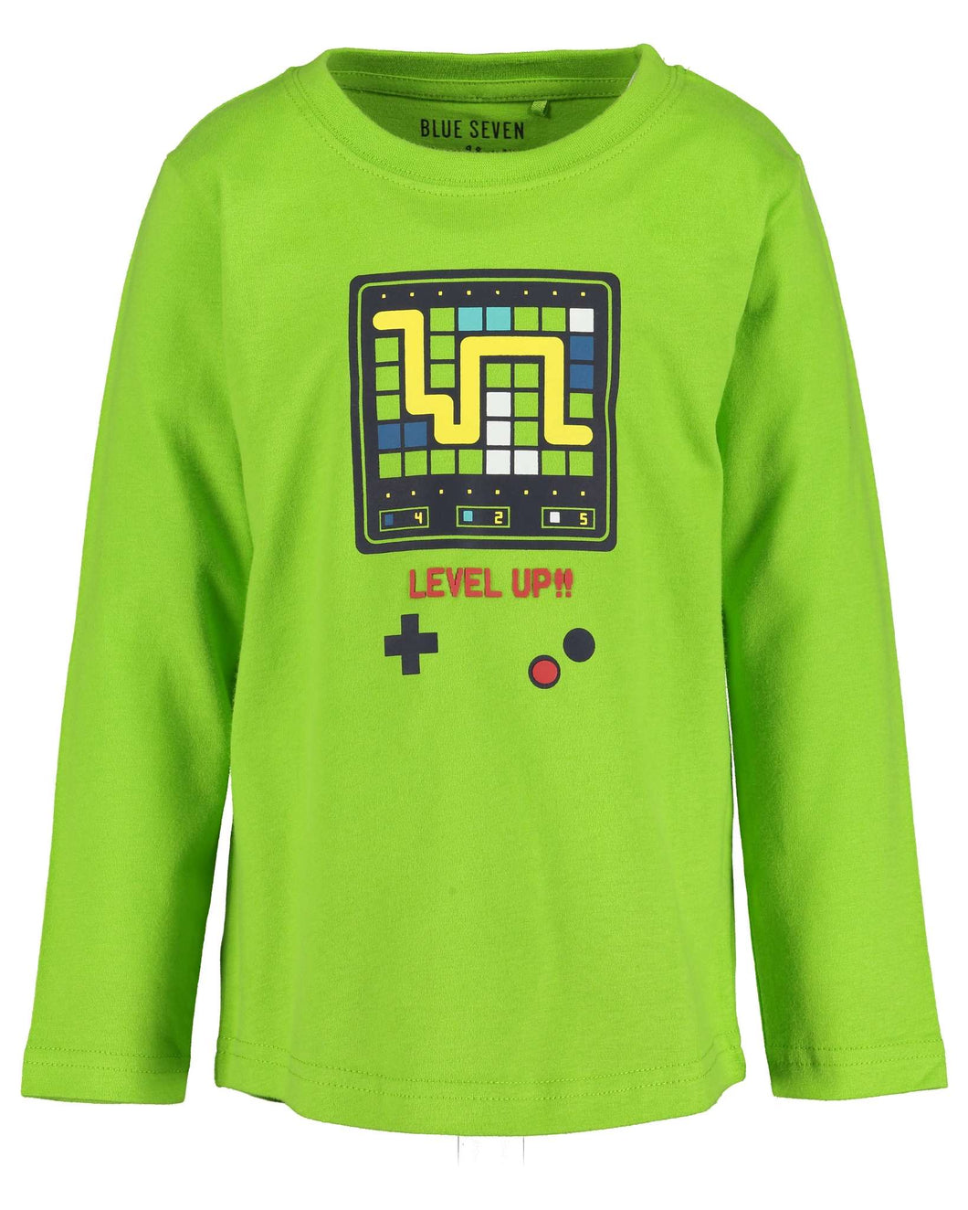 Blue Seven boys gaming level up  t-shirt