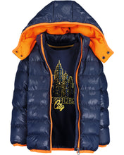 Load image into Gallery viewer, Blue Seven boys woven high neck jacket