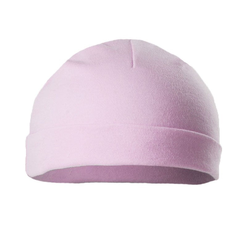 Soft touch half moon cotton hats