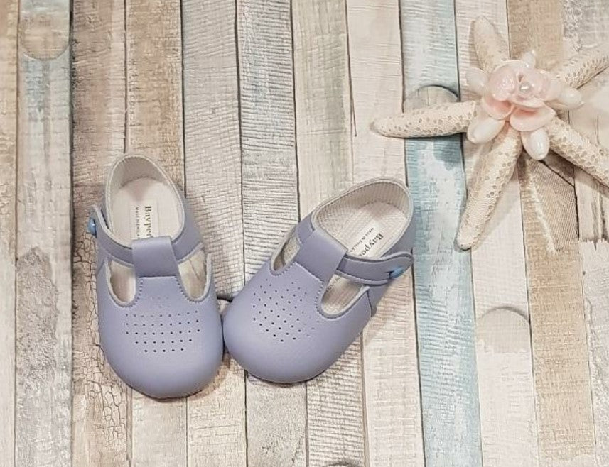 Blue bay pod soft pram shoe
