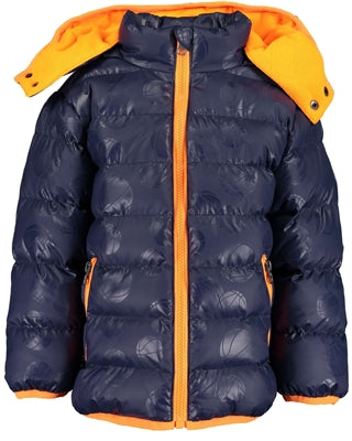 Blue Seven boys woven high neck jacket