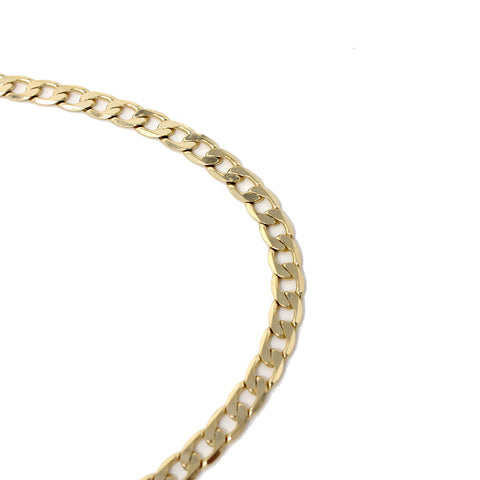 Gold Plated  Unisex Cuban Chain