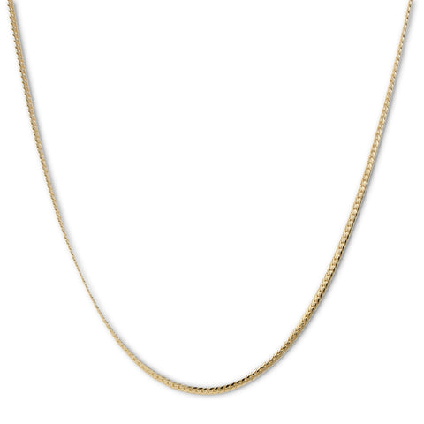 Gold Plated  Unisex Miami Cuban Chain- Thickness 4mm