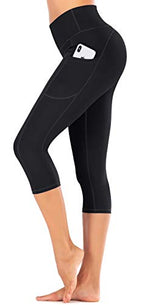Load image into Gallery viewer, IUGA High Waist Yoga Capris Leggings Pants with Pockets