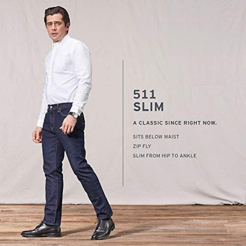 Levi's Men's 511 Slim Fit Jean- Stretch