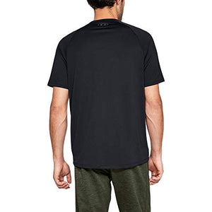 Under Armour Men's Tech 2.0 Short Sleeve T-Shirt, Black