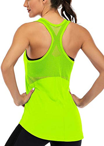 Fihapyli Women's Workout Yoga Sleeveless Tank Tops