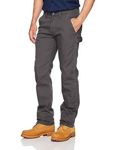 Dickies Men's Tough Max Duck Carpenter Pant, Stonewashed Slate, 32x30