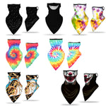 Load image into Gallery viewer, Mutl Pattern Print Breathable Earloop Neck Gaiter Face Cover