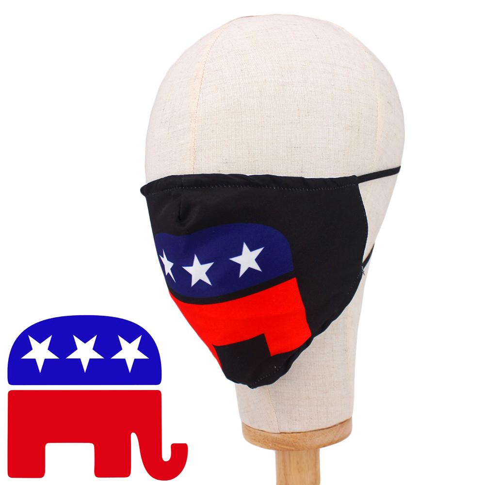 American Flag Elephant Non-Medical Fashion Masks