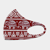 Elephant Print Non-Medical Reusable Fashion Mask