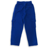 H&W Men's Lightweight Basic Casual Fleece Cargo Pants S-6XL-Blue