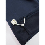 Henry & William Men's Lightweight Basic Fleece Sweatpants with Side Zipper Pocket-NAVY