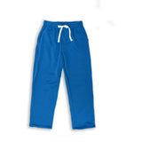 Henry & William Men's Lightweight Basic Fleece Sweatpants with Side Zipper Pocket-TURQUOISE