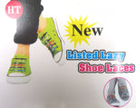 No Tie Elastic Lazy Shoelaces for Kids and Adults