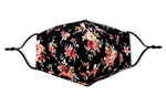 Load image into Gallery viewer, Flower Print Reusable Non- Medical Cotton Face Mask W/ Filter Pocket