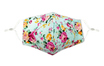 Load image into Gallery viewer, Flower Print Reusable Non- Medical Cotton Face Mask W/ Filter Pocket-Labor Day Special