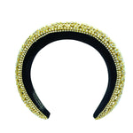 Rhinestone Padded Fashion Headbands