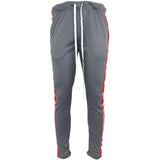 Henry & William | Men's Triple Stripe Track Pants With Ankle Zippers