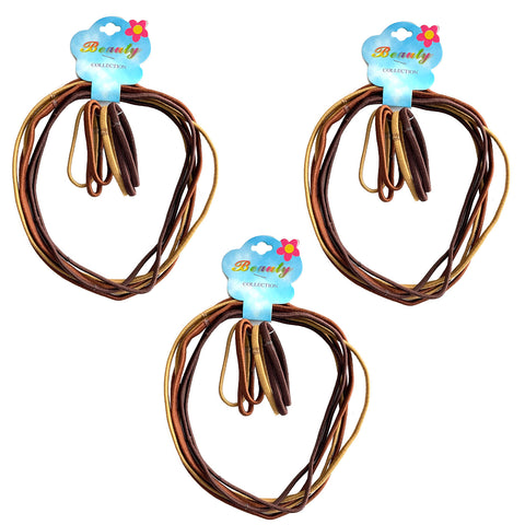 Hair Bands, Simply Hair Ties Ponytail-Long and Short Combo Pack