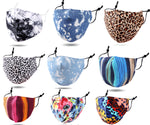 Colorful Print Cotton Fashion Masks