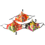 Multi Color Assorted Aztec Print Fashion Masks