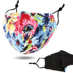 Load image into Gallery viewer, Colorful Print Cotton Fashion Masks